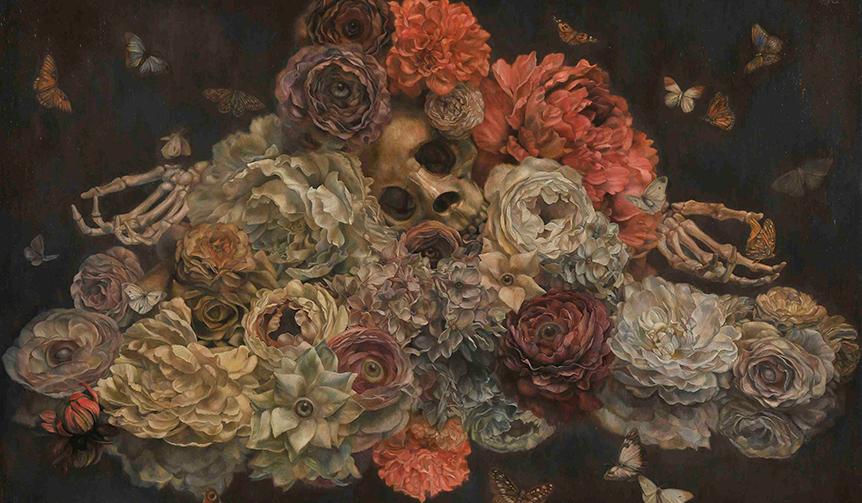 ART|DIOR HOMMEが起用したヴァニタス絵画の現代解釈、亀井 徹の世界