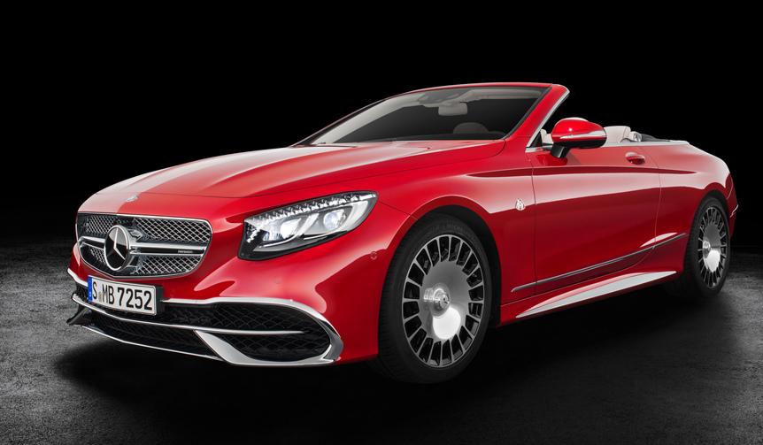 世界限定300台のマイバッハ オープンモデル|Mercedes-Maybach