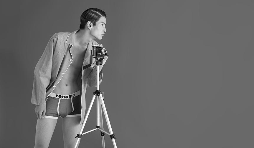 renoma underwear レノマがアンダーウェア初のポップアップストアを展開