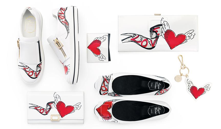 Roger Vivier|ハートと翼を携えて。ロジェ ヴィヴィエのバレンタインコレクション発売