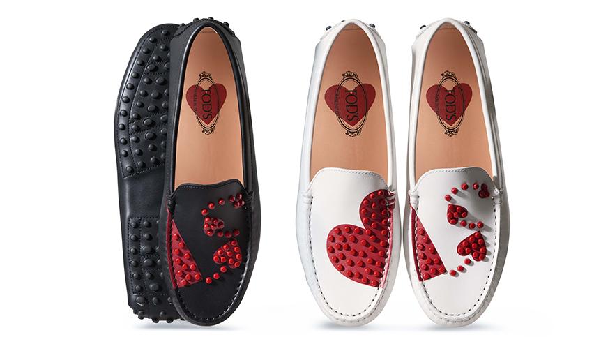 TOD'S|真っ赤なハートに心ときめくトッズのバレンタインコレクション