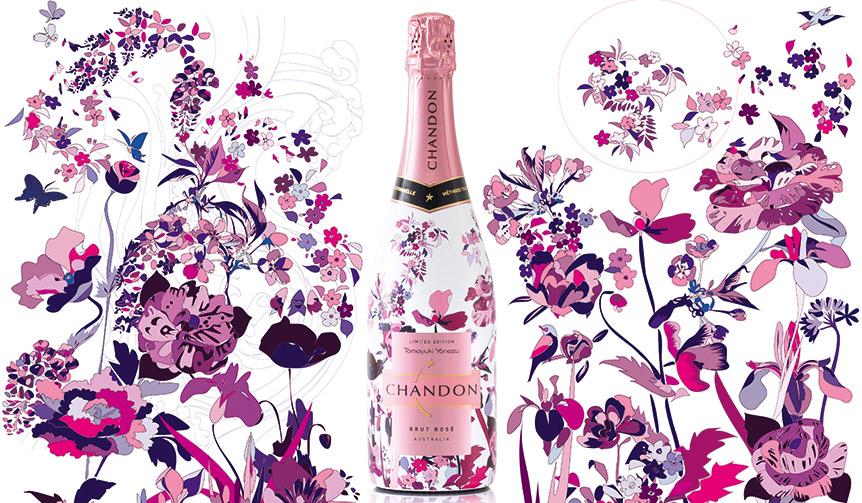 CHANDON|シャンドンが米津智之デザインの日本限定ボトルを展開