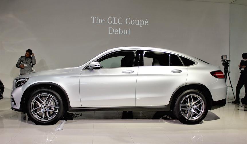 クーペライクなSUV「GLCクーペ」発売|Mercedes-Benz