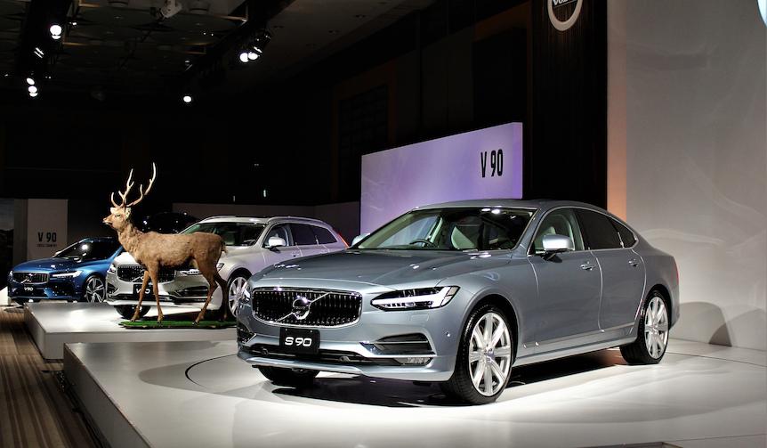 ボルボ、新フラッグシップ「S90」「V90」の発売開始|Volvo