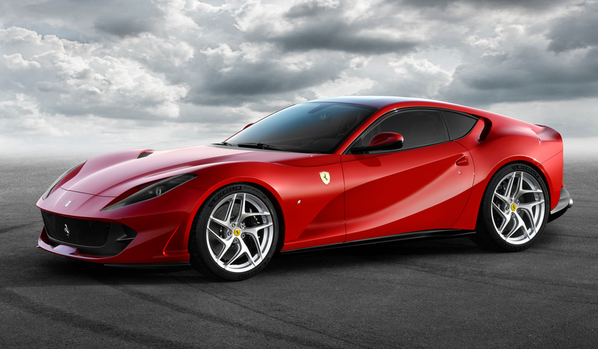 フェラーリ「812スーパーファースト」をジュネーブで世界初披露|Ferrari