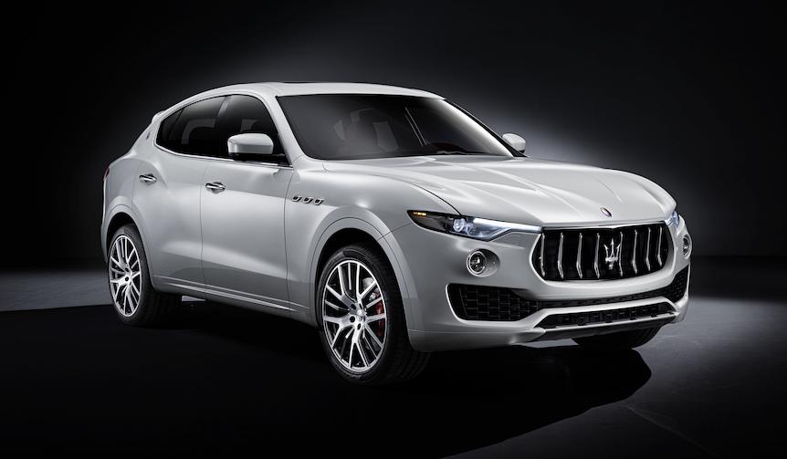 マセラティのSUV「レヴァンテ」にディーゼルモデルを追加 Maserati