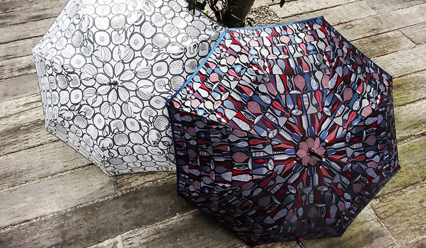 DESIGN|創業150年の槙田商店が贈る、巨匠リンドベリデザインの傘
