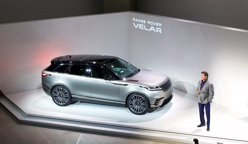 レンジローバーの新モデル「ヴェラール」、ついに発表|Range Rover