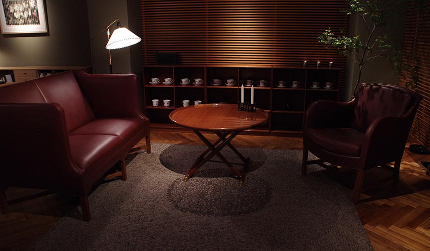 DESIGN|デンマーク最古の家具工房「ルド・ラスムッセン」最後の展示販売会