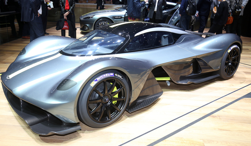 Aston martin hypercar am rb 001