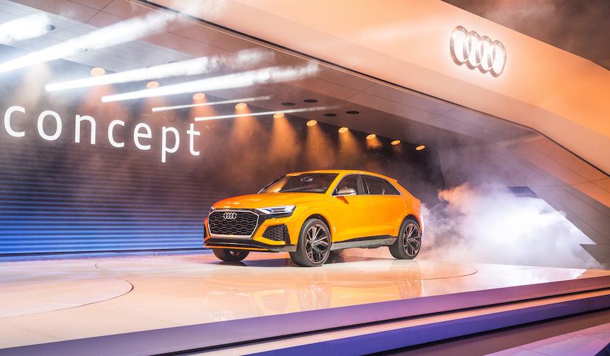 マイルドハイブリッドのQ8スポーツ コンセプトがジュネーブに登場|Audi