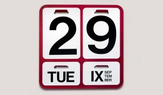 設立60周年記念。万年カレンダー「フォルモサ」のスペシャルカラー |DANESE