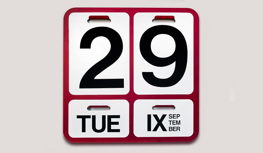 DANESE|設立60周年記念。万年カレンダー「フォルモサ」のスペシャルカラー