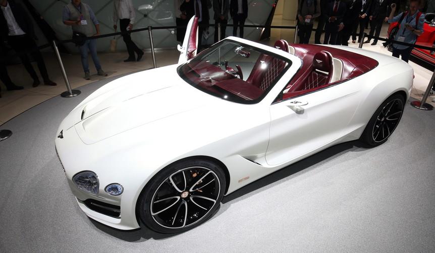 ベントレーが考えるラグジュアリーなEVコンセプト|Bentley