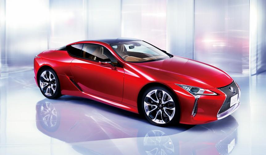 フラッグシップクーペLCが発売|Lexus