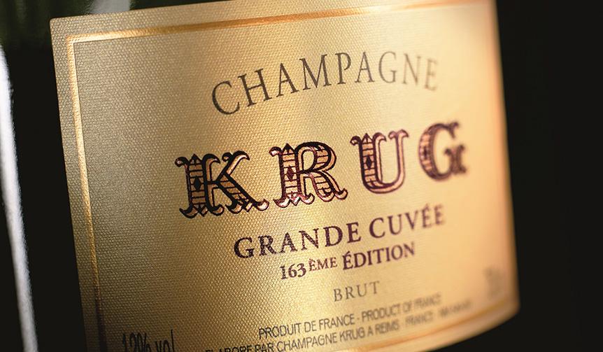KRUG|創業者の夢を表す「ÉDITION」がフロントラベルに掲載