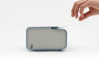 ティッシュに付着する花粉や埃を極力防ぐ、プラスチック製ケース |METAPHYS