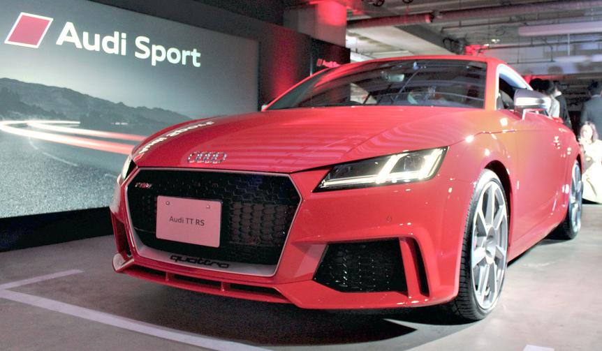 アウディ「R8スパイダー」「TTRS」「RS3セダン」を日本導入|Audi