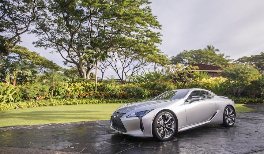 レクサスの新フラッグシップクーペ「LC」試乗(前篇)|Lexus