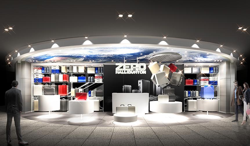 ZERO HALLIBURTON|ゼロハリバートンが「GINZA SIX」に新店オープン