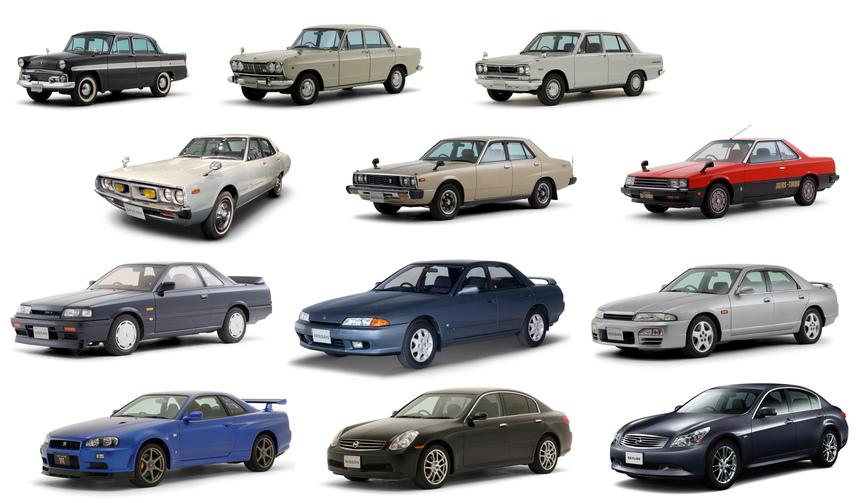 スカイライン誕生60周年を記念したイベントを六本木ヒルズで開催 Nissan