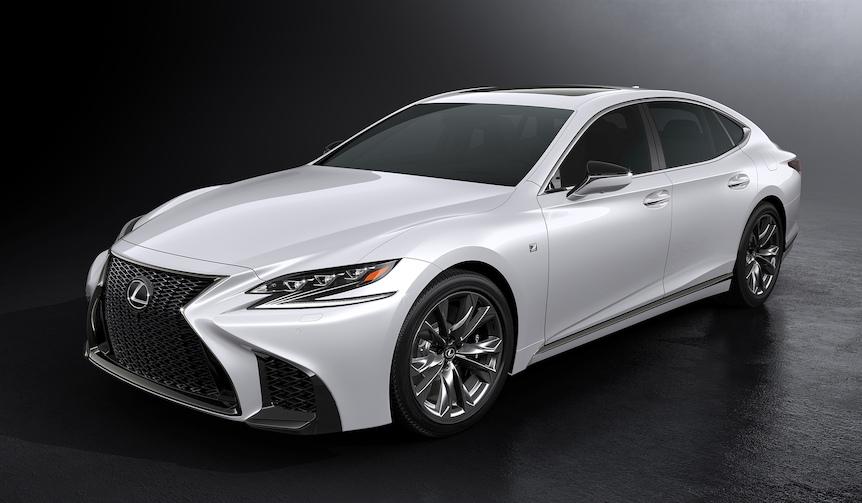 新型レクサスLSにF SPORTが登場|Lexus