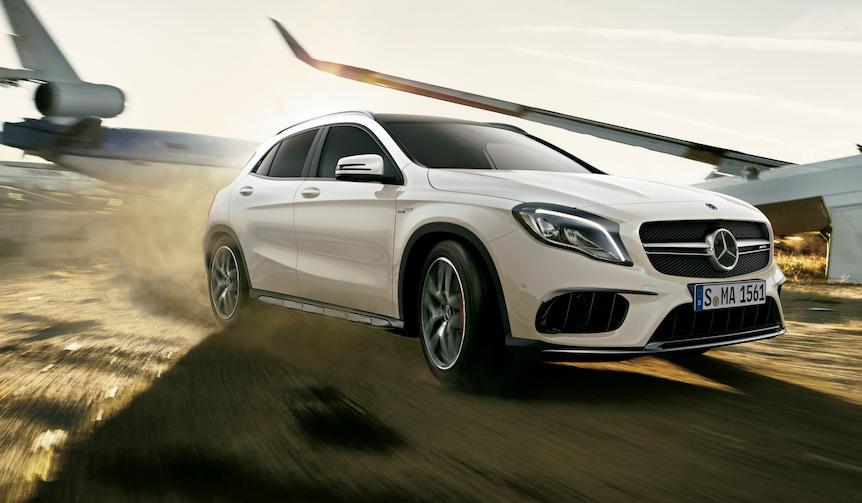 メルセデスのコンパクトSUV「GLA」がアップデート|Mercedes-Benz