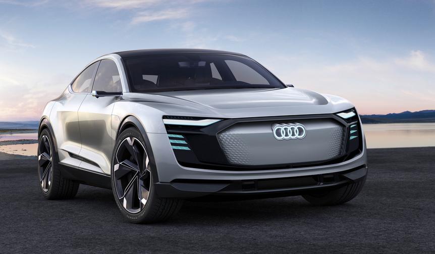 アウディ、大型クーペスタイルのEVコンセプトを発表|Audi