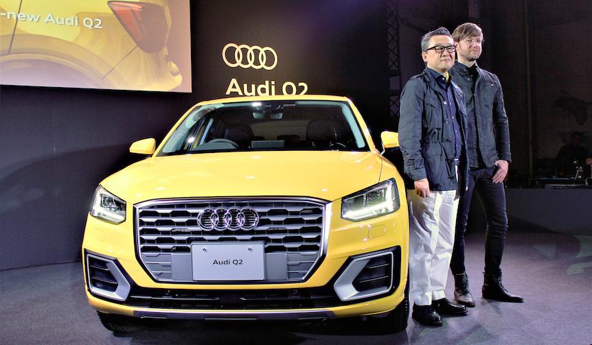 アウディ最小のSUV「Q2」国内販売開始|Audi