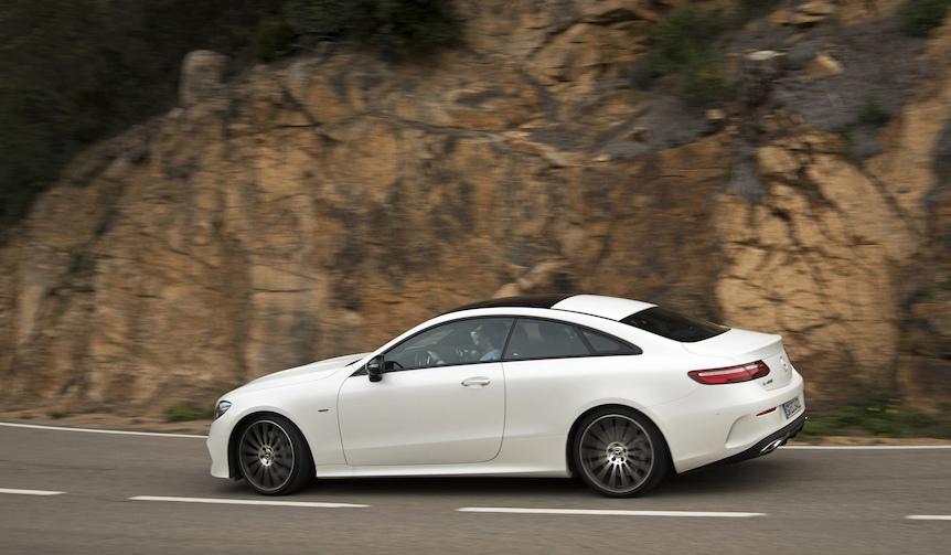 新型メルセデス・ベンツ Eクラス クーペに試乗|Mercedes-Benz