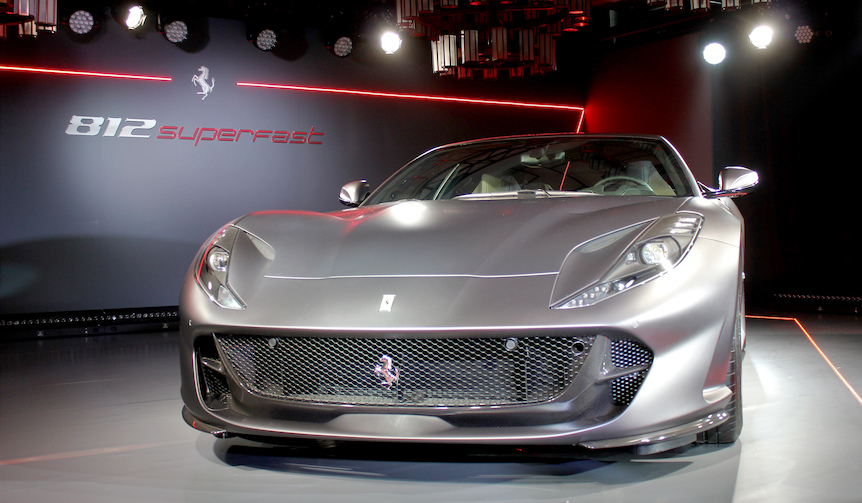 V12フェラーリ最速の812スーパーファスト、日本上陸|Ferrari