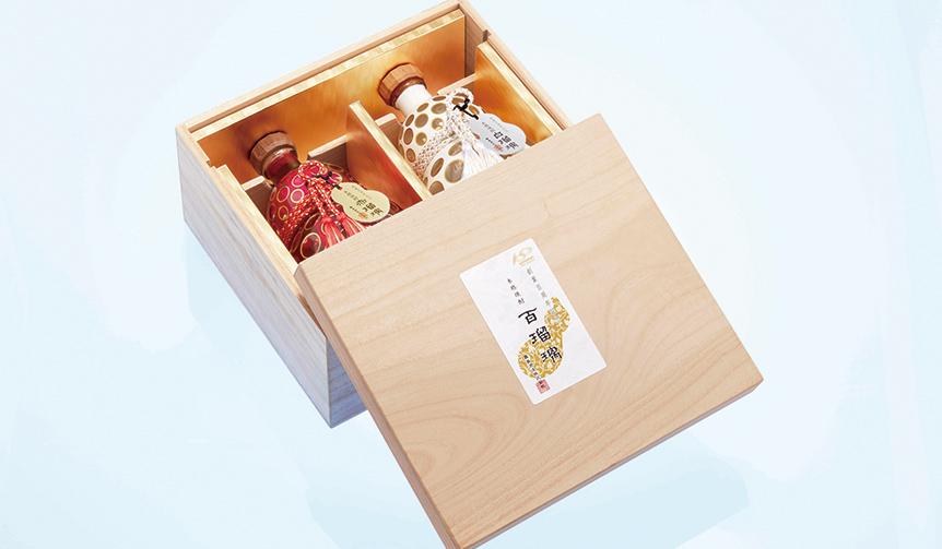LOUNGE|霧島酒造創業100周年を記念した本格焼酎「百瑠璃」