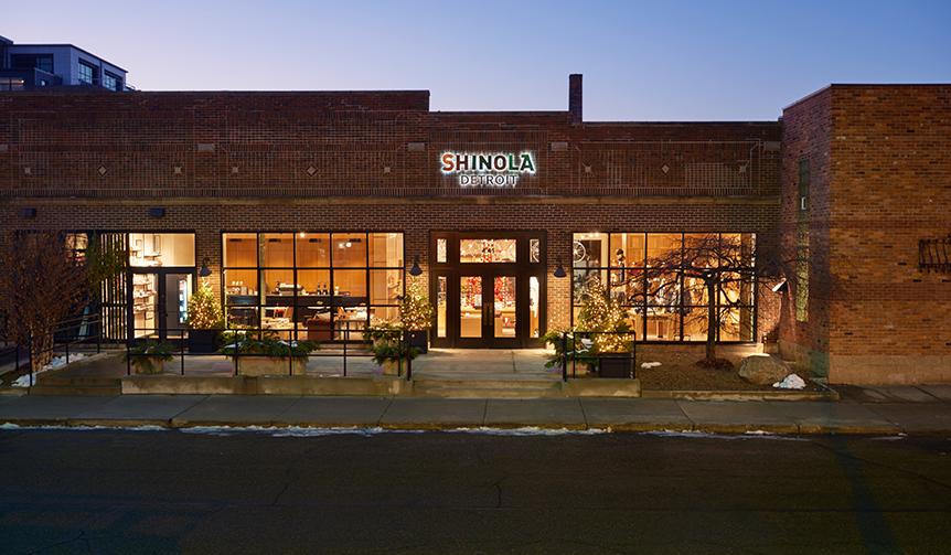 SHINOLA DETROIT|古き良きアメリカのクラフトマンシップを、もう一度!