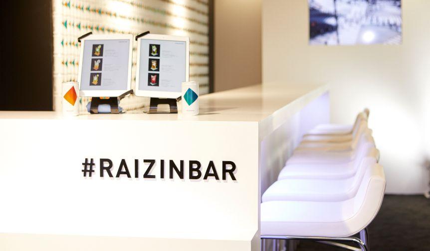 RAIZINカクテルが楽しめる「#RAIZIN BAR」が期間限定オープン!
