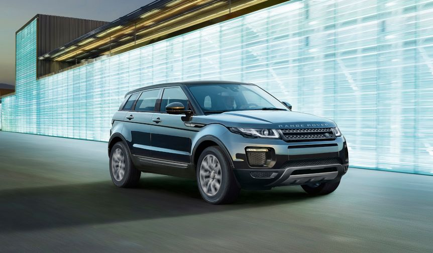 イヴォークに装備を充実させた2種類の特別仕様車|Range Rover