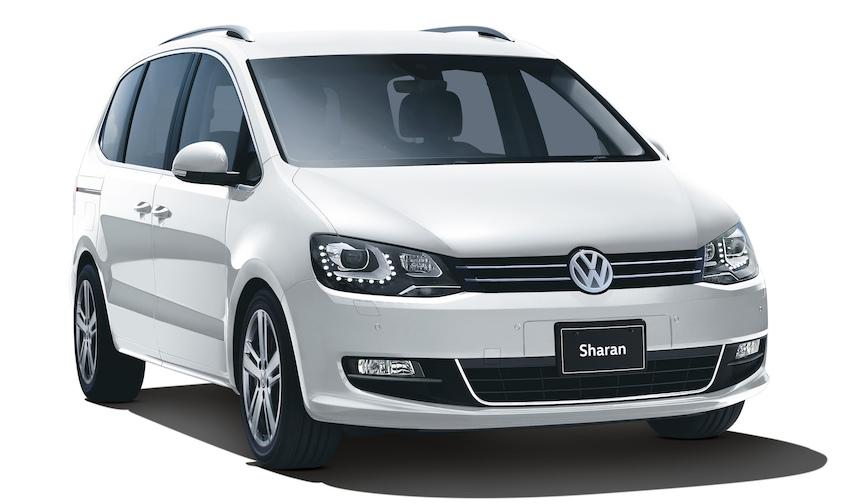 VWシャラン、ゴルフトゥーランに特別仕様車 Volkswagen