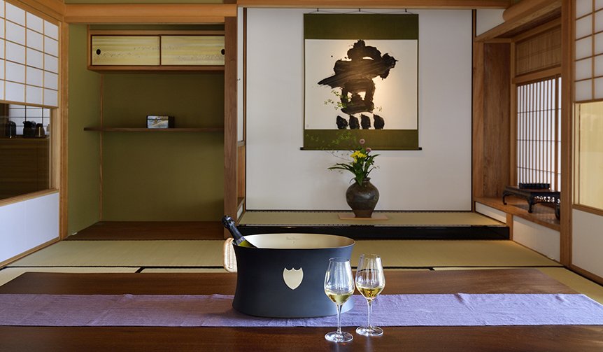 Dom Pérignon|フラグシップシャンパーニュ「P2」が愉しめるエクスクルーシブな宿泊プラン