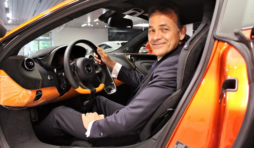 マクラーレン オートモーティブ  セールス&マーケティング 責任者にインタビュー|McLaren