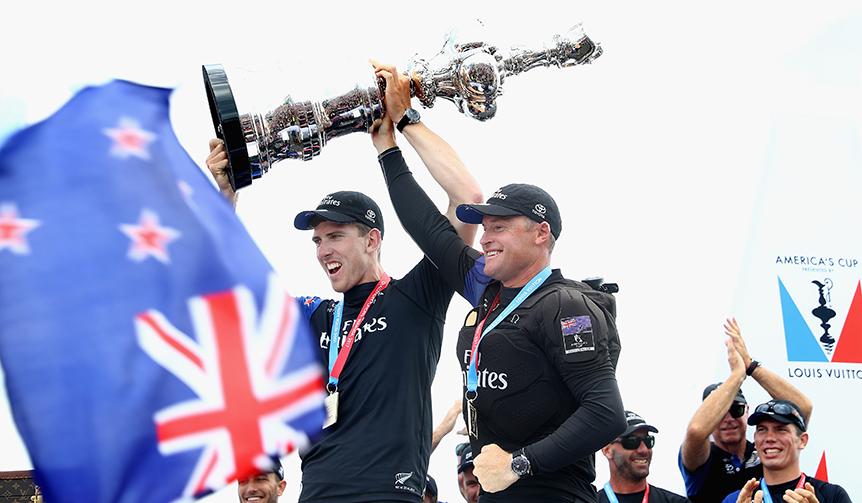 OMEGA|オメガが支援するチーム・ニュージーランドが第35回アメリカズカップを奪取