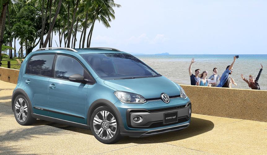 SUVルックなup!の限定車|Volkswagen