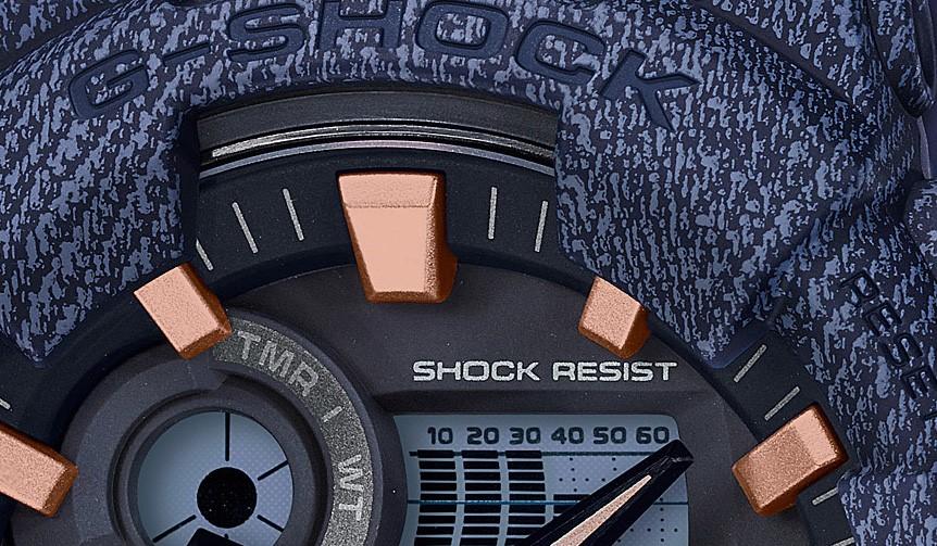 CASIO|デニムモチーフのG-SHOCK「デニムドカラー」が新たに登場