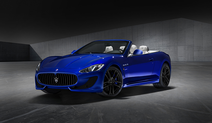 ブルーボディで装った限定5台のグラントゥーリズモとグランカブリオ|Maserati