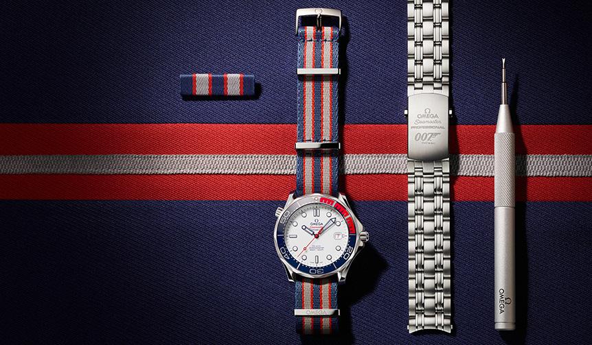 OMEGA|海軍中佐のジェームズ・ボンドをイメージした7007本の世界限定モデル