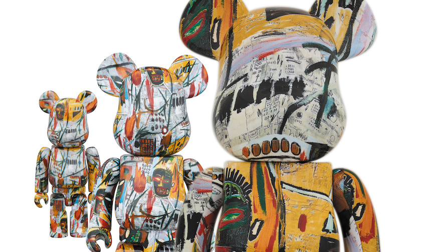 BE@RBRICK JEAN,MICHEL BASQUIAT|MEDICOM TOY