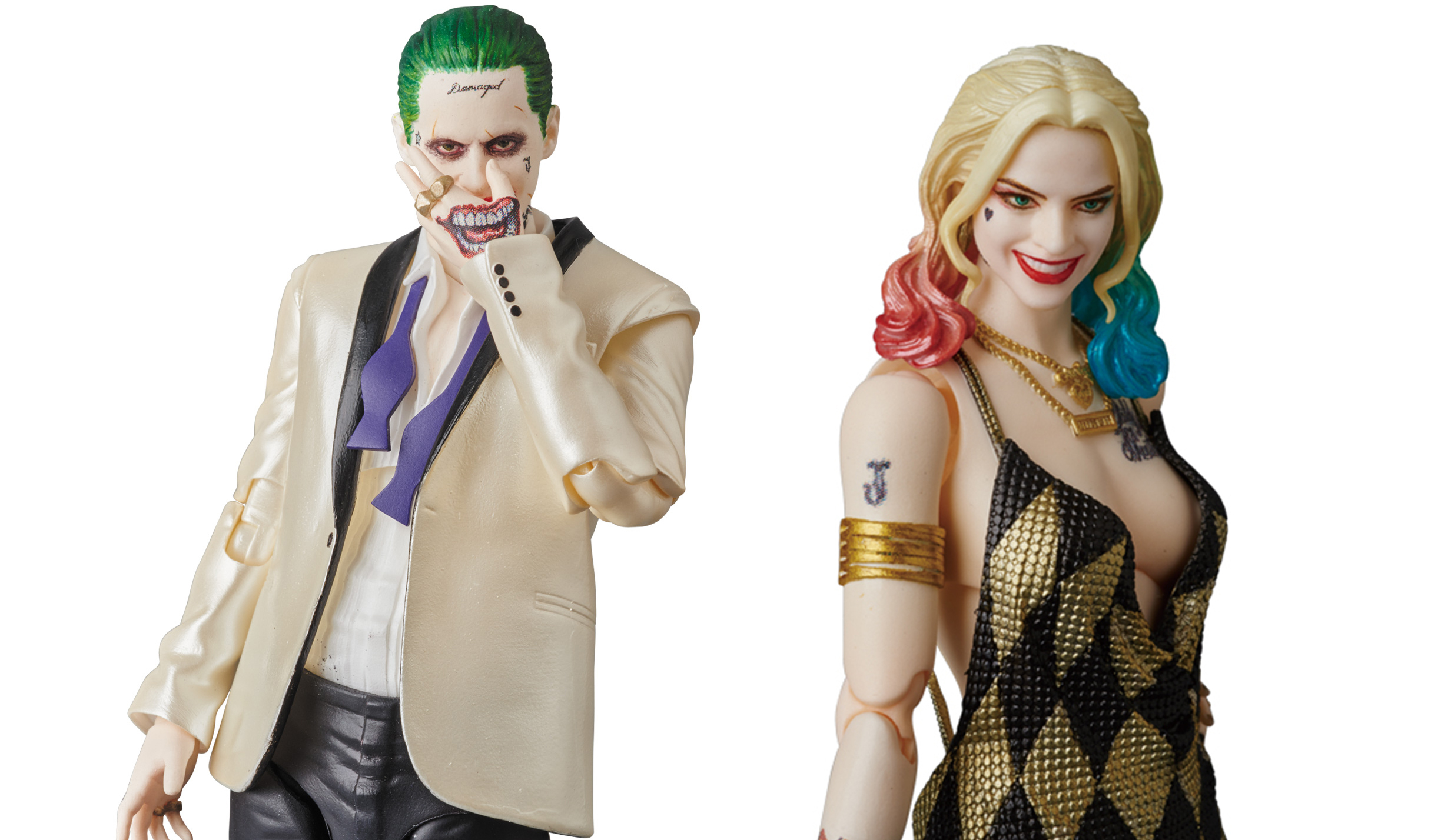 MAFEX THE JOKER (SUIT ver.) / HARLEY QUINN (DRESS ver.)|MEDICOM TOY
