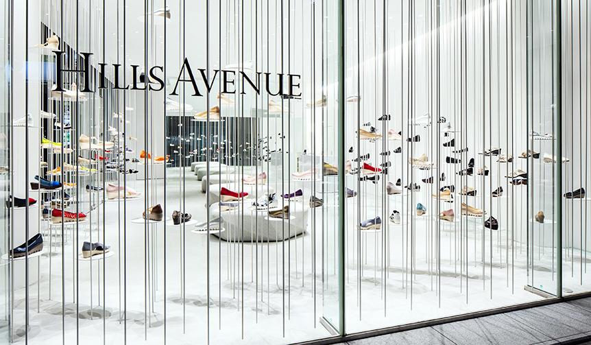 DESIGN|吉岡徳仁が手掛けた「Hills Avenue Flagship Store」