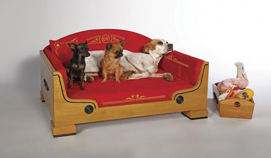 DESIGN|愛犬のための最高級ベッド&バッグ