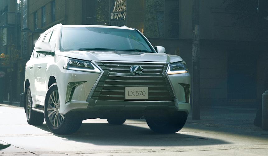 レクサスLXに2列シート5人乗りモデルを追加|Lexus