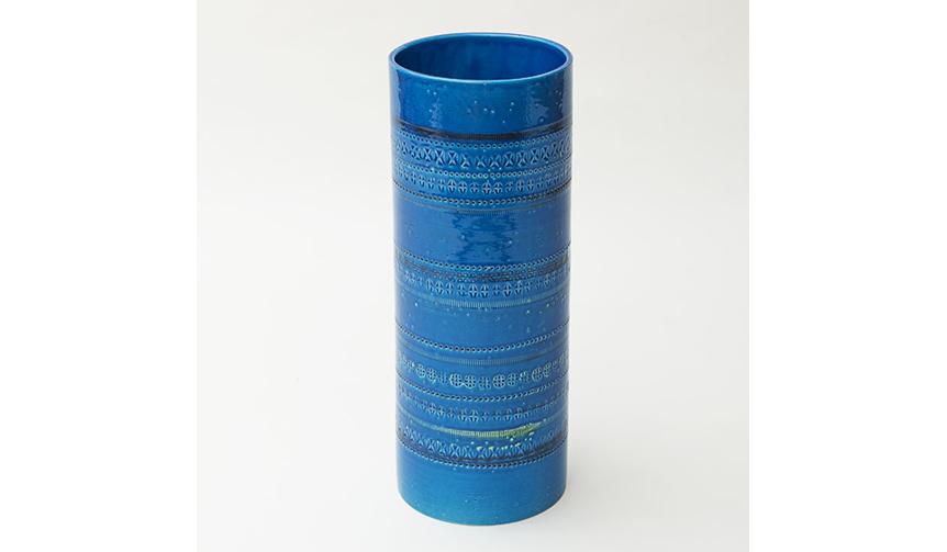 Bitossi|深みのあるロンディーブルーと幾何学模様の濃淡が織りなす陶器シリーズ