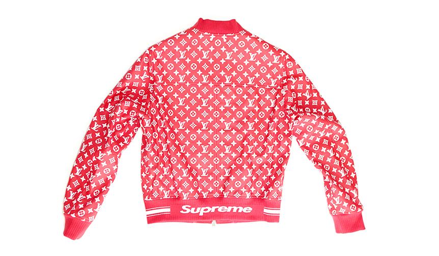 LOUIS VUITTON × SUPREME jacket